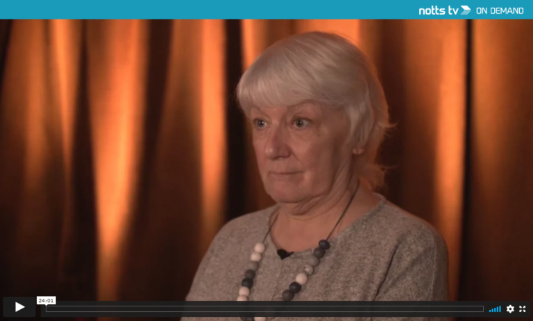 Anne Featherstone Speaks to NottsTV NG30 – Now Available Online
