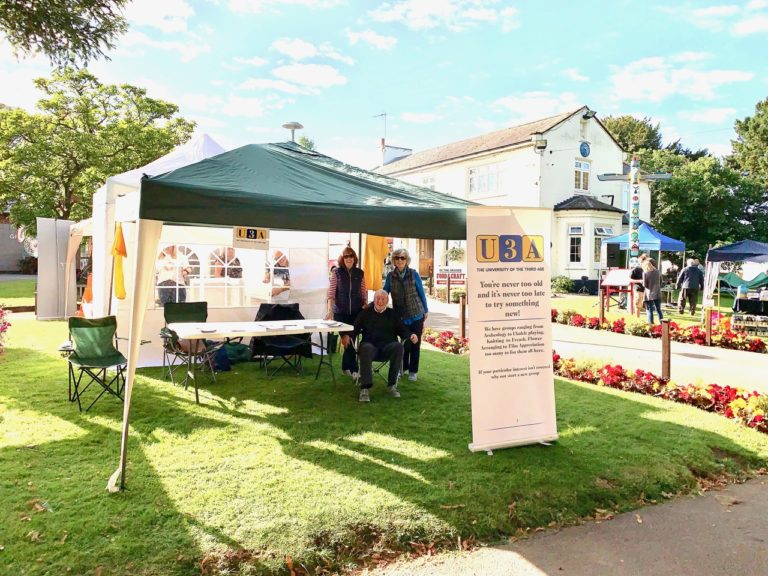 U3A at the Village Show 2019